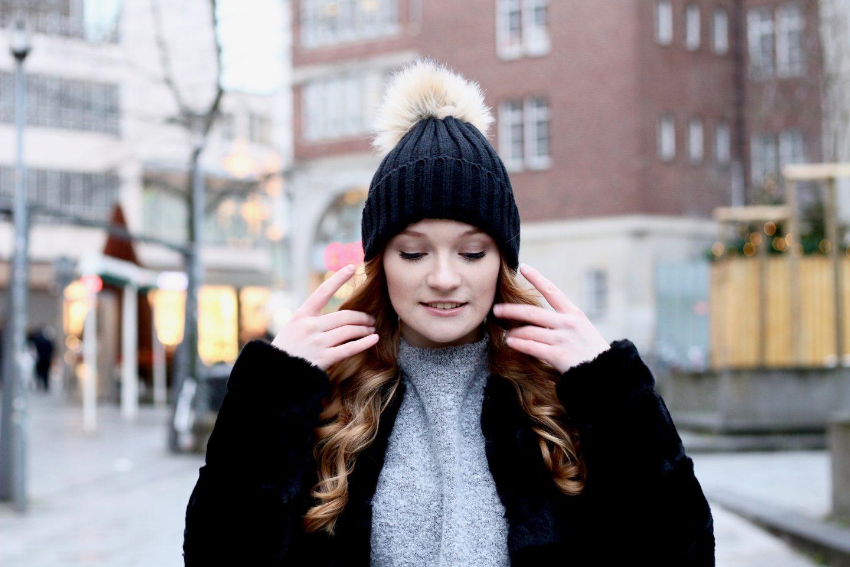 Fashion: Fake Fur Mantel + Jahresvorsätze